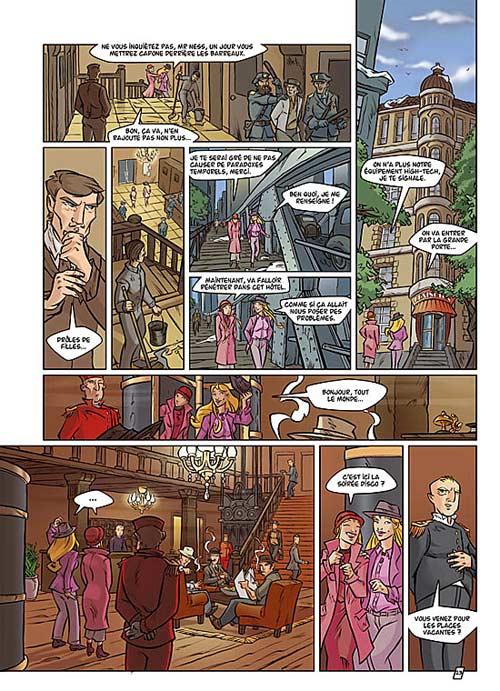 Time twins T1 : 15/02/29 (0), bd chez Le Lombard de Derrien, Vignaux, Jaime