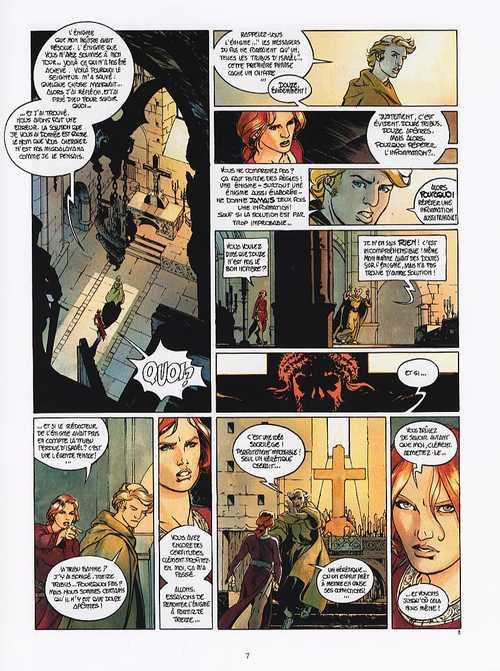 Le troisième testament T4 : Jean ou le jour du corbeau (0), bd chez Glénat de Dorison, Alice