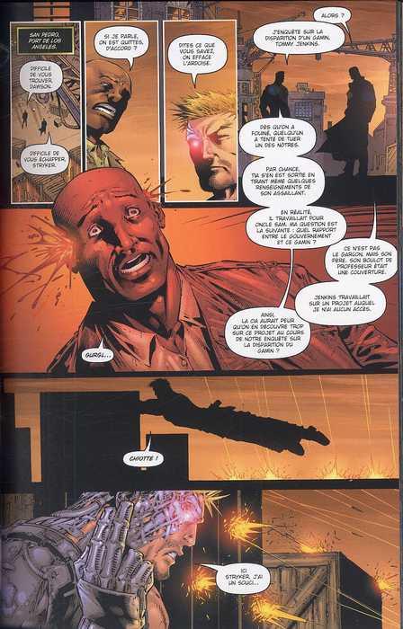 Stryke Force T1 : La dernière chance au dernier moment (0), comics chez Bamboo de Faerber, Kirkham, Buccellato, Oback