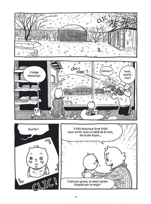 Le Goût du kimchi, manga chez Sarbacane de Hong