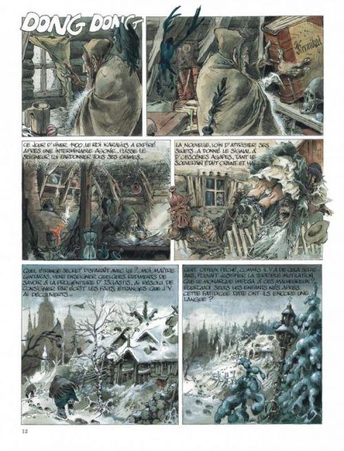 Sortilèges et méchanteries, bd chez Dupuis de Yann, Hausman