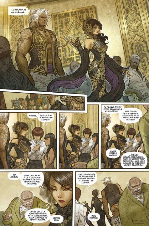 Monstress T1 : L'éveil (0), comics chez Delcourt de Liu, Takeda
