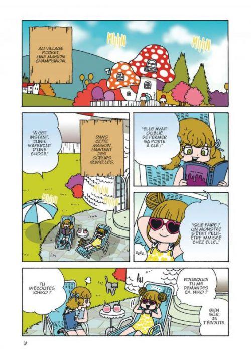 Ichiko & Niko T6, manga chez Kana de Yamamoto