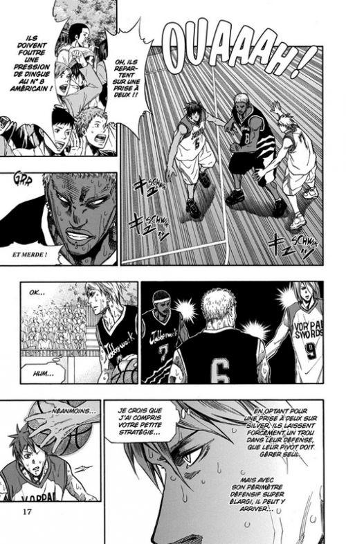 Kuroko's basket - Extra game T2, manga chez Kazé manga de  Fujimaki