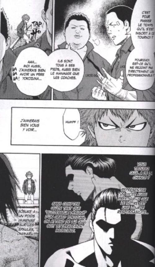 Hinomaru sumo T4, manga chez Glénat de Kawada