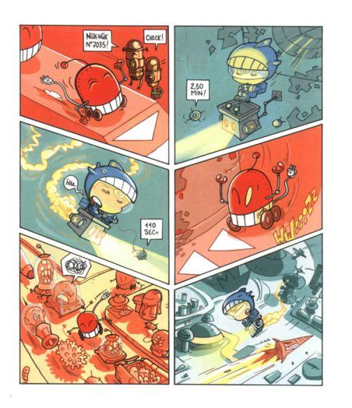 Bulby crunch ! T1 : Géno mix (0), bd chez Scutella Editions de Tristoon