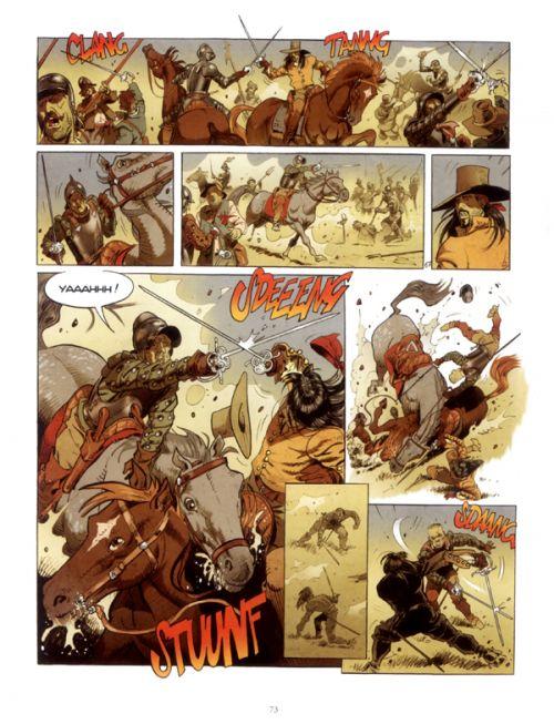 La Lame et la croix T2 : La croix sanglante (0), bd chez Mosquito de Casini