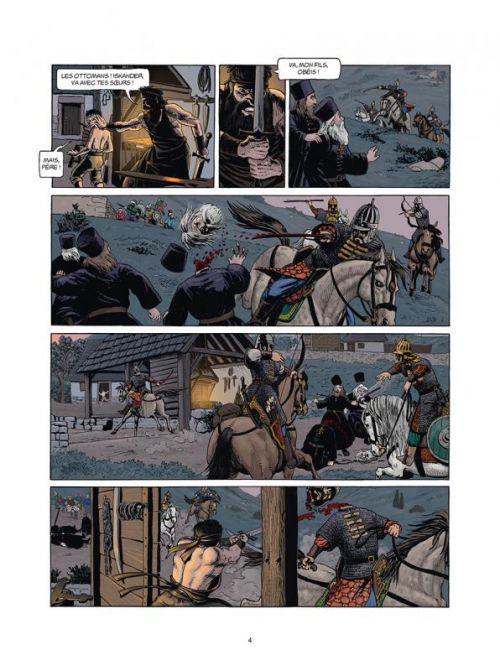 Jour J T27 : Les ombres de Constantinople (0), bd chez Delcourt de Pécau, Duval, Kordey, Yana