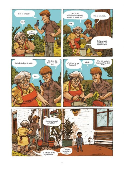 44 après Ronny, bd chez Glénat de Olbrechts