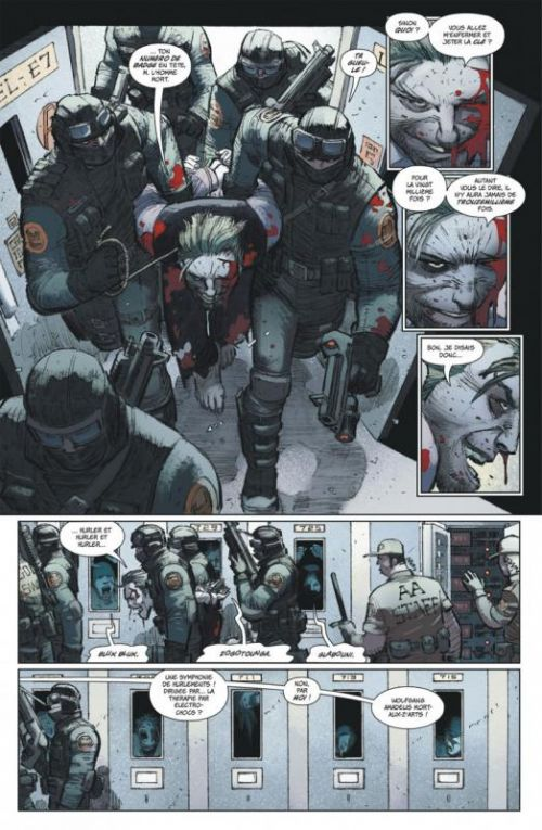 Batman - Dark Knight The Last Crusade, comics chez Urban Comics de Azzarello, Miller, Romita Jr, Steigerwald
