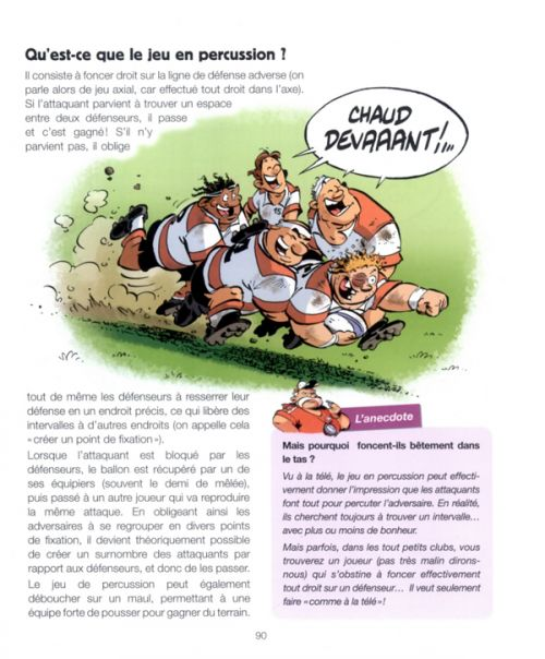 Les rugbymen : Le rugby et ses règles (0), bd chez Bamboo de Jutge, Beka, Poupard