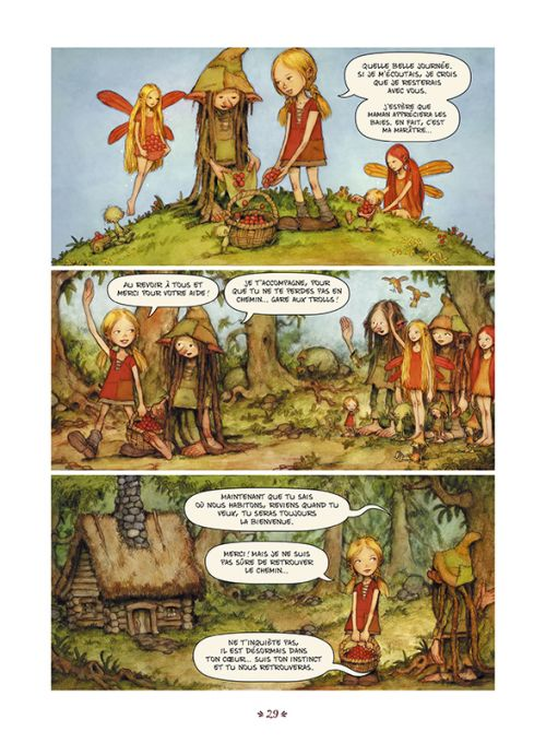 Secrets de Trolls, bd chez Sarbacane de Holmvall