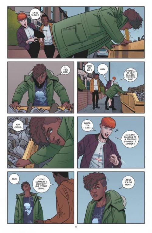 The Wicked + The Divine T2 : Fandemonium (0), comics chez Glénat de Gillen, McKelvie, Wilson
