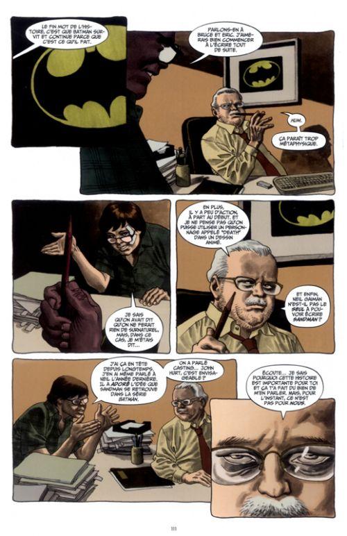Dark Night - Une Histoire Vraie, comics chez Urban Comics de Dini, Risso