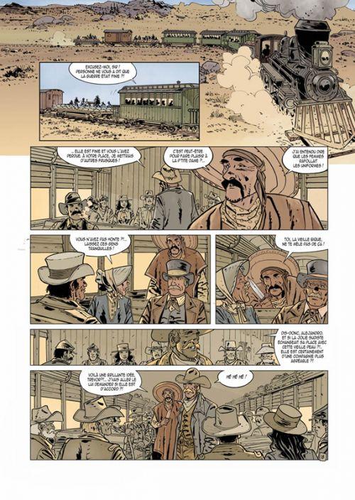 L'Or de Morrison T1, bd chez Les éditions du Long Bec de Seiter, Brecht