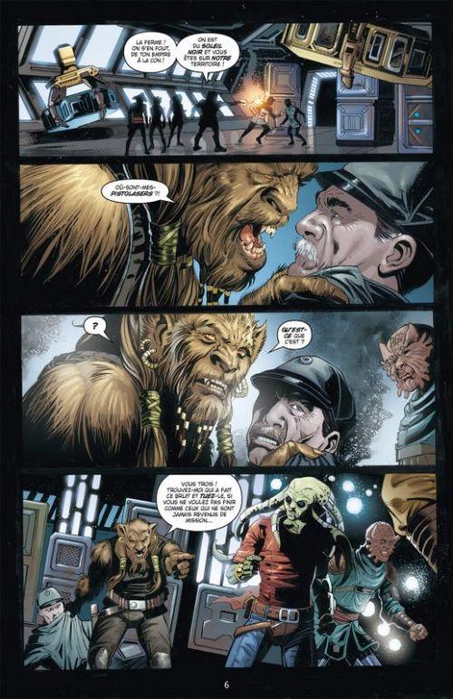 Star Wars Legacy – Saison 1, T7 : Tatooine (0), comics chez Delcourt de Duursema, Ostrander, Baldisimo, Anderson, Aburtov