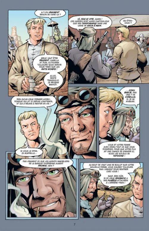 Star Wars - L'Ordre Jedi T3 : Outlander (0), comics chez Delcourt de Truman, Rio, Raney, Leonardi, McCaig, Kelly