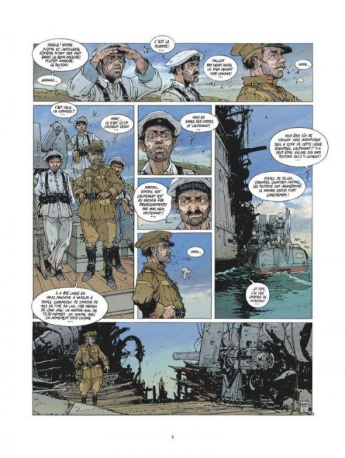 Les Grandes batailles navales : Jutland (0), bd chez Glénat de Delitte, Delitte
