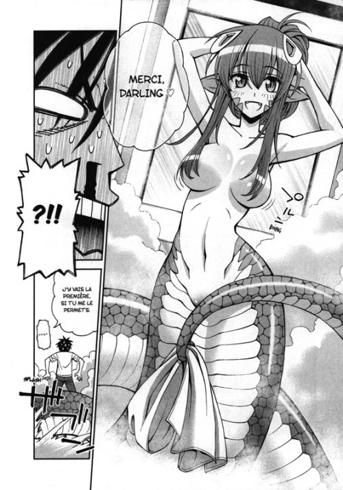 Monster musume T1, manga chez Ototo de Okayado