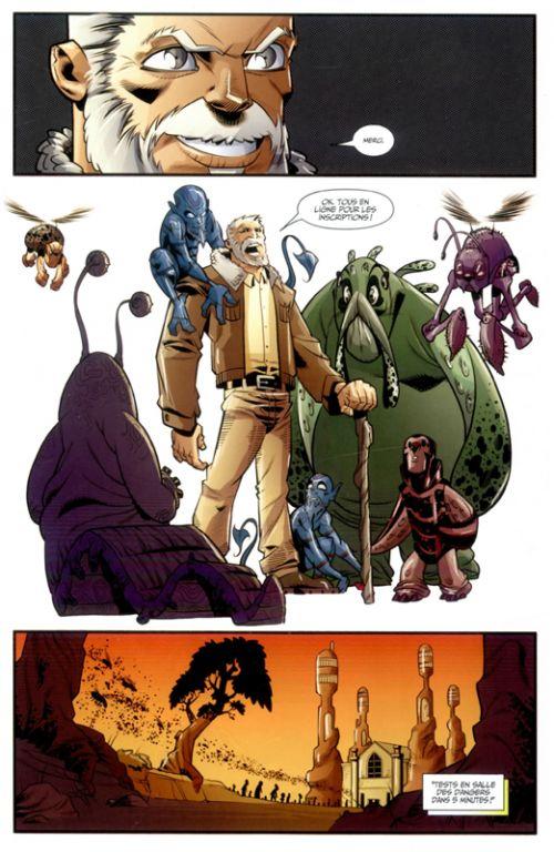 Wolverine and the X-Men T4 : La saga des damnés (0), comics chez Panini Comics de Aaron, Sanders, Alves, Bachalo, Bradshaw, Nauck, Ferry, Larraz, Crystal, Espin, Perez, Milla, Pantazis, Martin, Mossa, SotoColor, Guru efx, Campbell, Loughridge, Mason