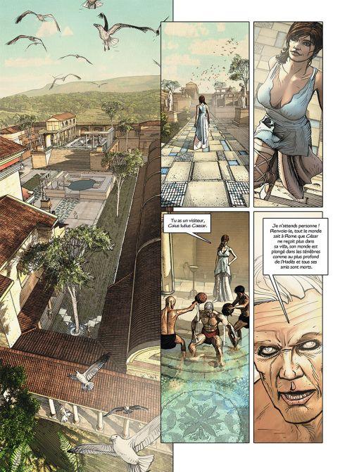 Jour J T28 : L'aigle et le cobra (0), bd chez Delcourt de Duval, Blanchard, Pécau, Fafner