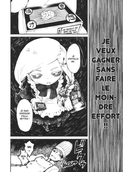 La petite fille aux allumettes  T2, manga chez Komikku éditions de Suzuki