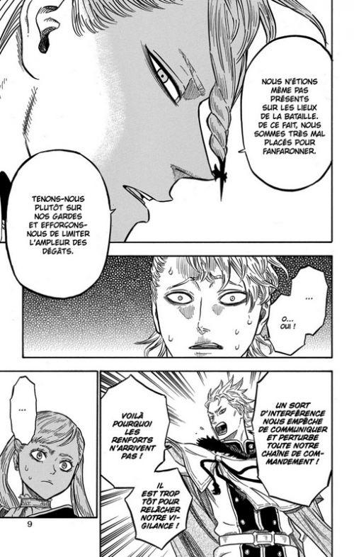 Black clover T5, manga chez Kazé manga de Tabata