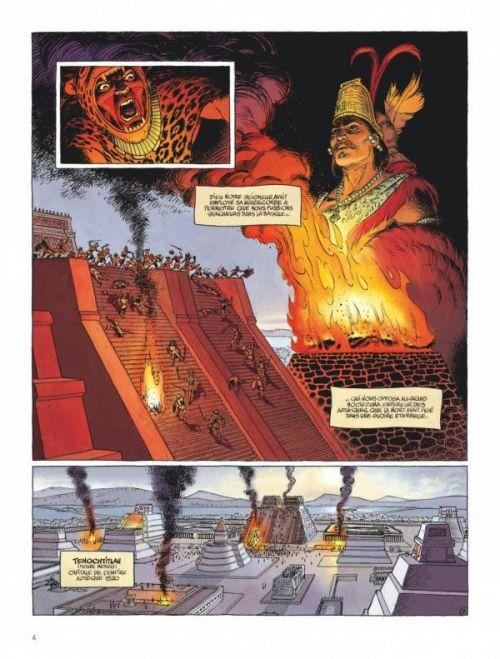 Le Nouveau monde T1 : L'épée du conquistador (0), bd chez Dargaud de Armanet, Helpert, Coyère, Cochet, Lerolle