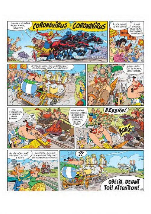 Astérix T37 : Astérix et la Transitalique (0), bd chez Albert René de Ferri, Conrad, Mébarki