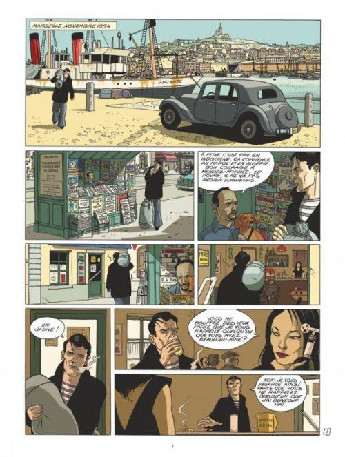 Les Miroirs du Crime T1 : Les Tueurs de Pigalle (0), bd chez Glénat de Simsolo, Hé