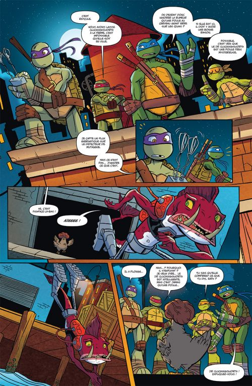 Teenage Mutant Ninja Turtles (Nickelodeon) T1 : Le zoo-diac attaque (0), comics chez Soleil de Manning, Thomas, Breckel