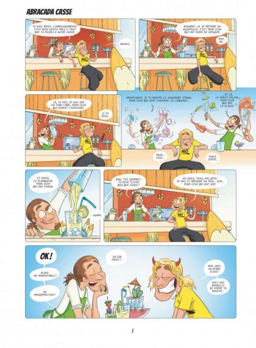 La Brice de Nice dessinée, bd chez Jungle de Duhamel, Roland, Sabatier, Odane