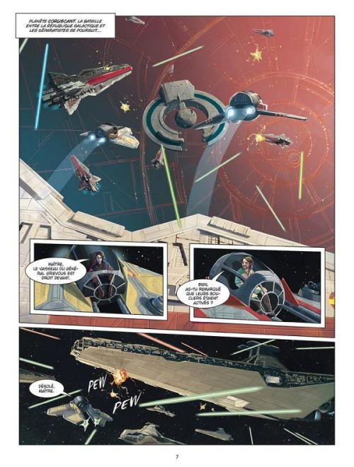Star Wars Episode III : La revanche des Siths (0), comics chez Delcourt de Ferrari, Chimisso, Shue, Parisi, Turotti, Casolino