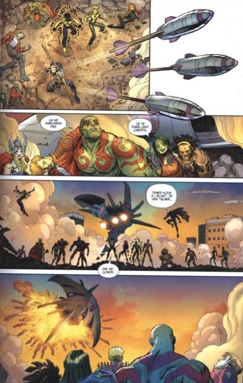 Les Gardiens de la Galaxie (vol.3) T5 : Les Gardiens rencontrent les Avengers (0), comics chez Panini Comics de Bendis, Seeley, Adams, Camagni, Coello, Schiti, Roux, Brown, Keith, Smith, Mounts, Charalampidis, Renaud