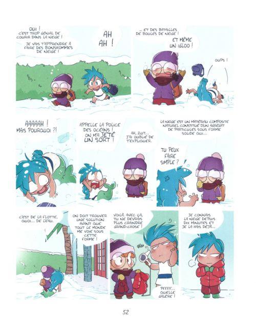 Ocarina Marina T1 : face de bulot (0), bd chez BD Kids de Mr Tan, Silas