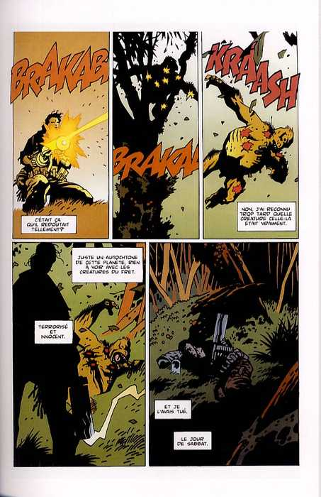 Aliens salvation, comics chez Wetta de Gibbons, Mignola, Nowlan