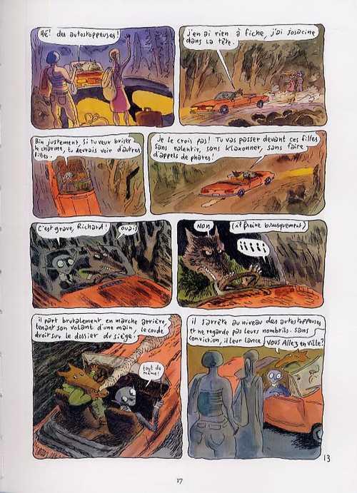 Le bestiaire amoureux T4 : L'âge où on est mort (0), bd chez Delcourt de Sfar, Walter