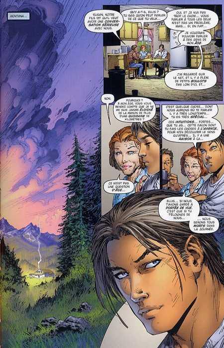 Hunter Killer T1 : Révélations (0), comics chez Delcourt de Waid, Silvestri