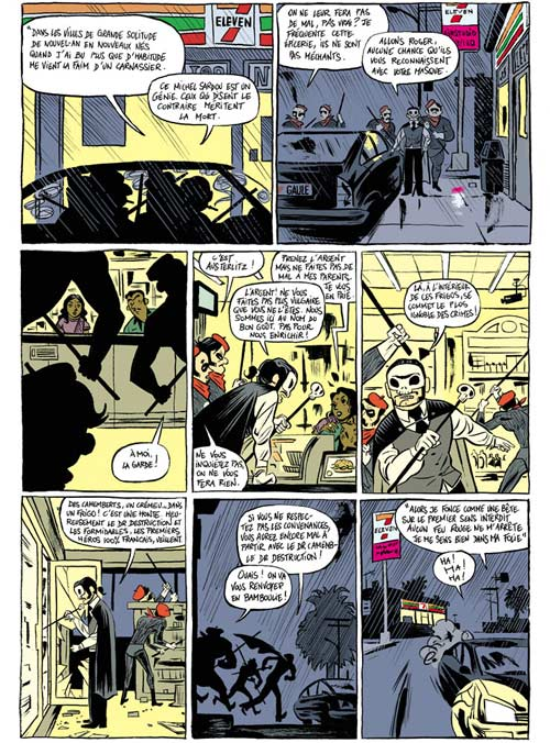 Lucha libre T4 : I wanna be your Luchadoritos (0), comics chez Les Humanoïdes Associés de Frissen, Vargas, Bill, Oiry, Mense, Witko, Tanquerelle, Firoud