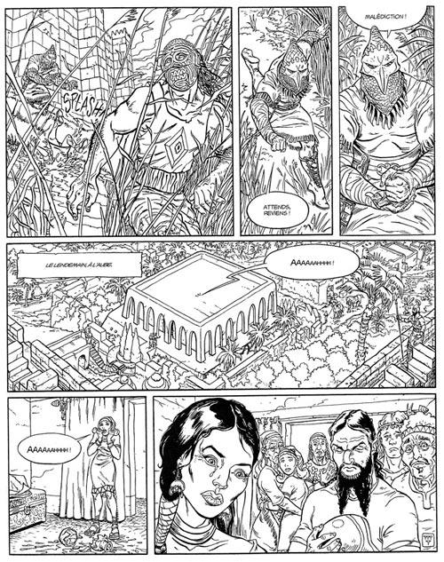 La porte d'Ishtar T1 : La nuit des masques (0), bd chez Les Humanoïdes Associés de Paris, Dupuis, Jacquemoire, Matterne