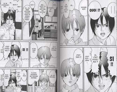 Gantz – 1e edition, T3, manga chez Tonkam de Oku