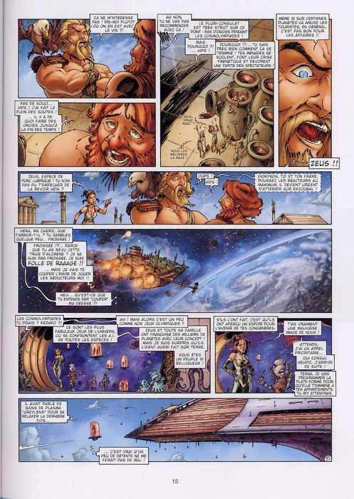 Tessa, agent intergalactique T4 : Cosmolympiades (0), bd chez Soleil de Mitric, Louis, Lamirand
