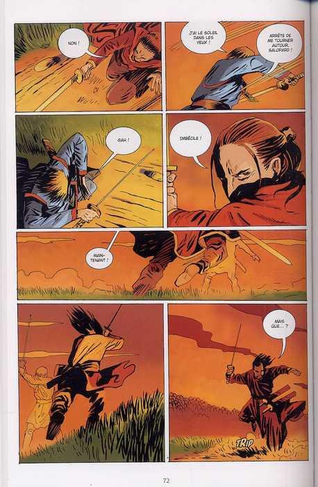 L'augure T1 : Duende (0), comics chez Delcourt de Bergting