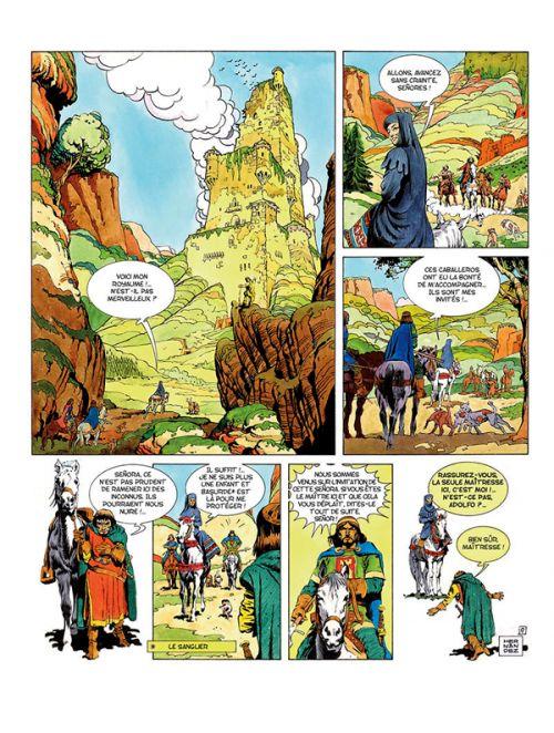 Le Cid, bd chez Les éditions du Long Bec de Hernandez Palacios