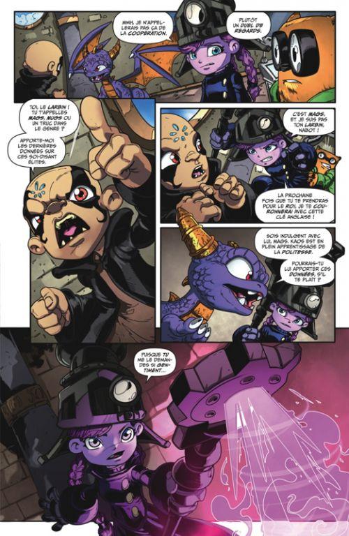 Skylanders T6 : Superchargers (0), comics chez Glénat de Marz, Rodriguez, Cossio, Lawrence, Cruz