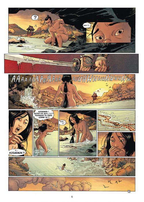 Samurai – cycle 4, T11 : Le Sabre et le Lotus (0), bd chez Soleil de Di Giorgio, Mormile, Pieri, Genet