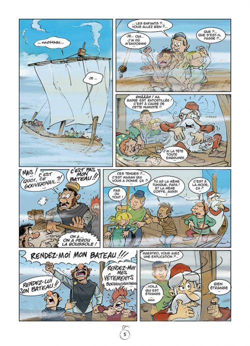 Il était une fois l'homme T3 : Les Vikings (0), bd chez Soleil de Gaudin, Barbaud, Minte, Hadjiyannakis