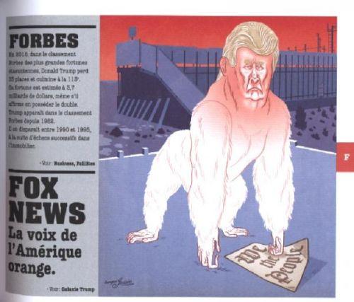 Trump de A à Z, bd chez Casterman de Bourhis, Collectif