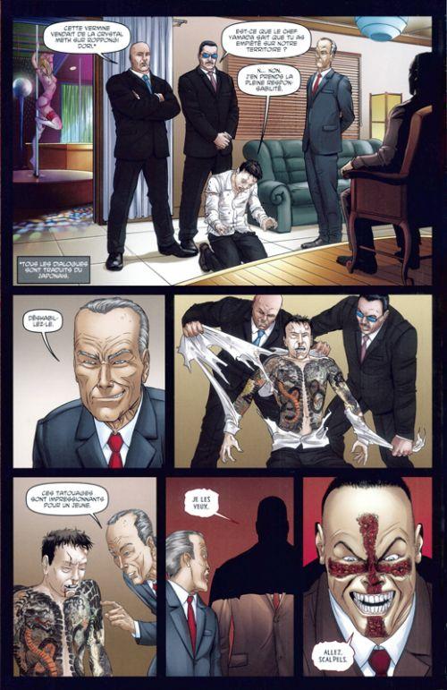 Crossed - Terres maudites T10 : La phalange sanglante / Fuir l'enfer carcéral (0), comics chez Panini Comics de Jordan, Hine, Heinz furukawa, Lopez, Digikore studio