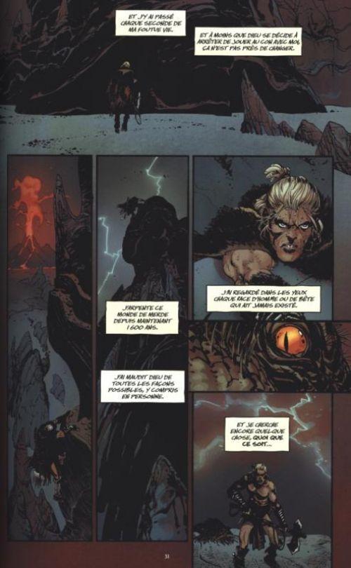 The Goddamned T1 : Avant le déluge (0), comics chez Urban Comics de Aaron, R.M. Guéra, Brusco